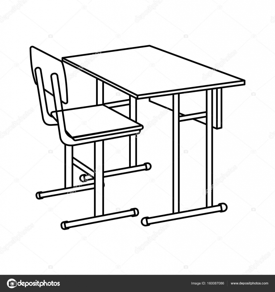 school desk coloring pages school desk coloring page sketch coloring page pages school coloring desk