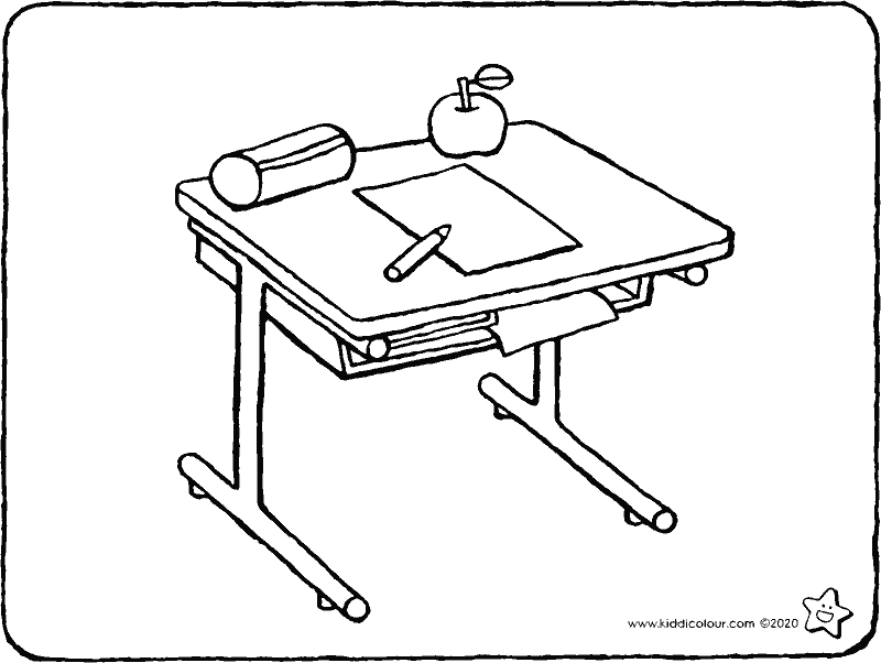 school desk coloring pages school desk coloring page sketch coloring page school desk coloring pages