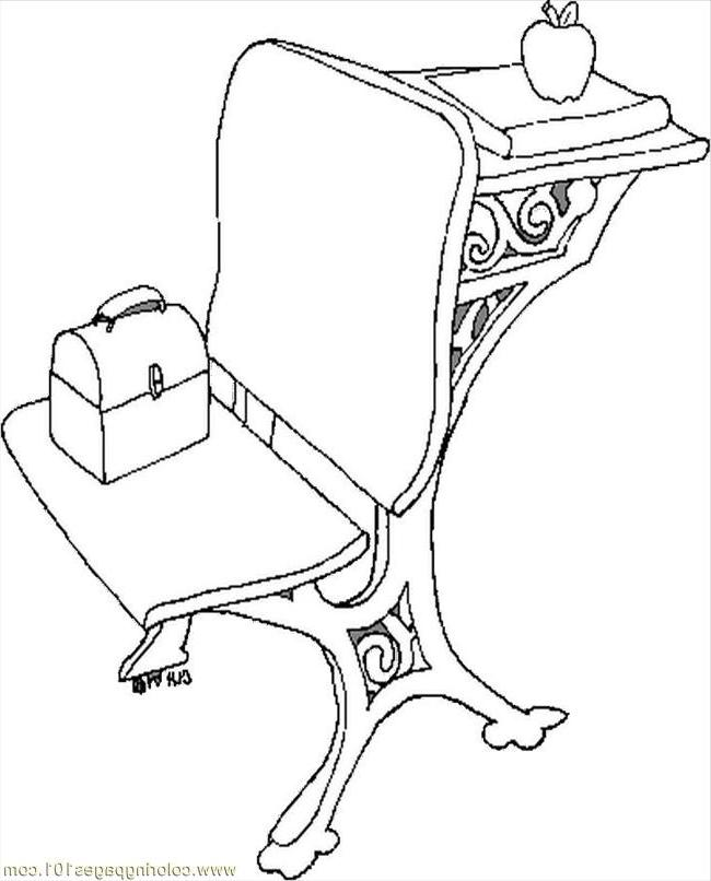 school desk coloring pages school desk coloring page sketch coloring page school pages desk coloring