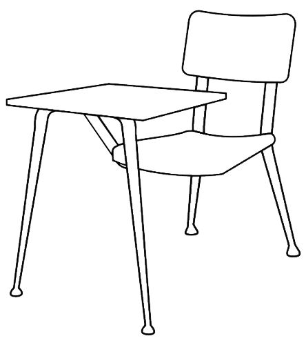 school desk coloring pages school desk kiddicolour coloring school desk pages