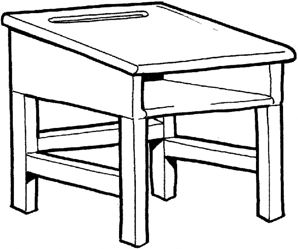 school desk coloring pages teacher drawing images free download on clipartmag pages desk school coloring