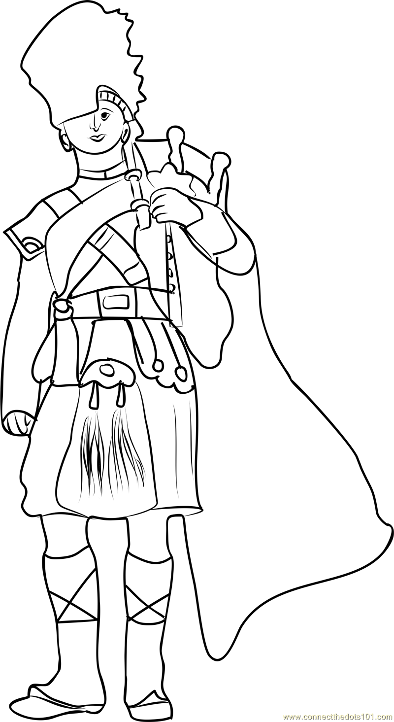 scottish colouring pages scotland coloring page crayolacom colouring scottish pages