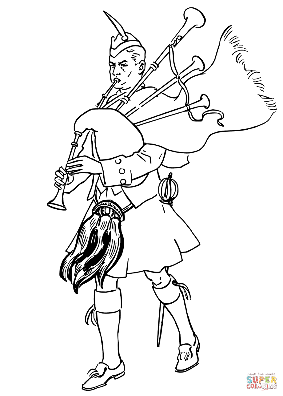 scottish colouring pages scotland colouring pages yahoo canada image search scottish pages colouring