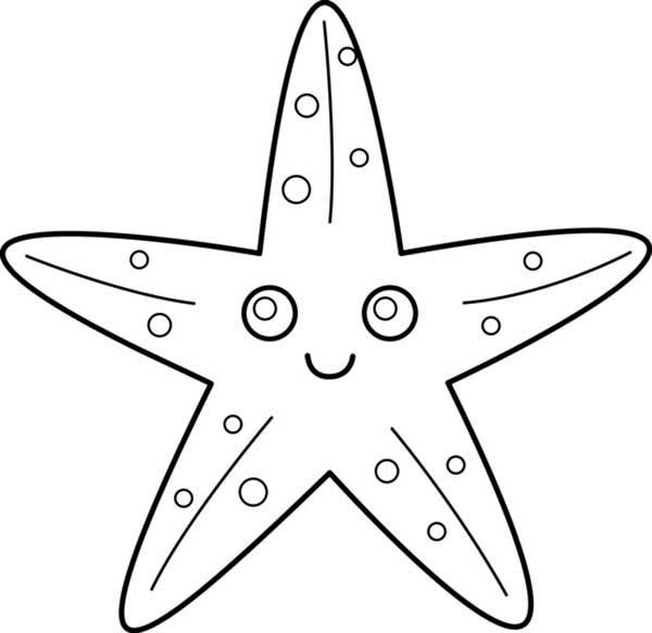 sea star coloring page free printable starfish coloring pages dopepicz star sea page coloring