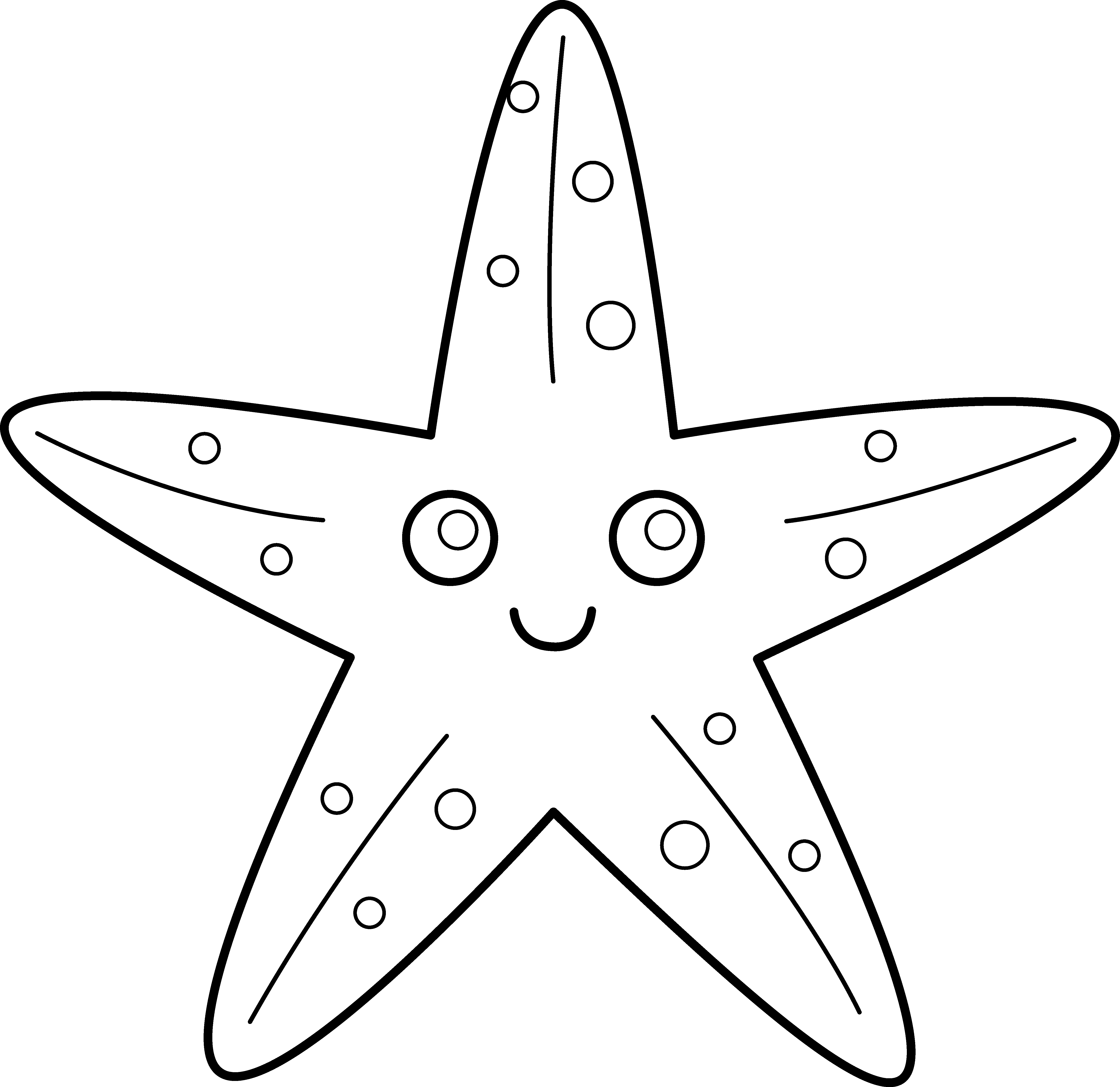 sea star coloring page ocean animal facts and coloring pages hubpages page star sea coloring