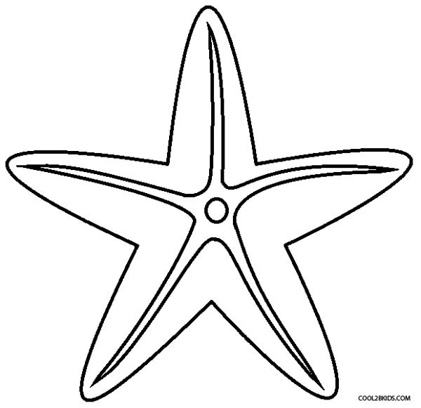 sea star coloring page printable starfish coloring pages for kids cool2bkids coloring star page sea