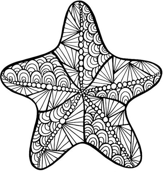 sea star coloring page starfish coloring page coloring home star sea page coloring