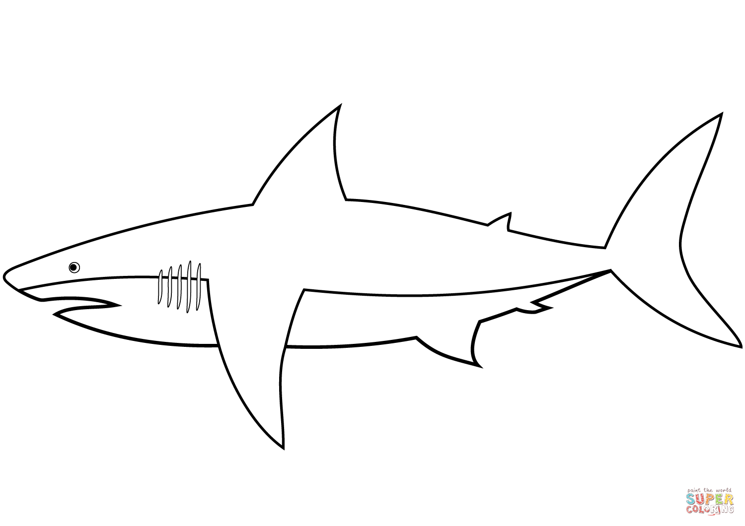 shark colouring picture baby shark coloring pages coloring home shark picture colouring