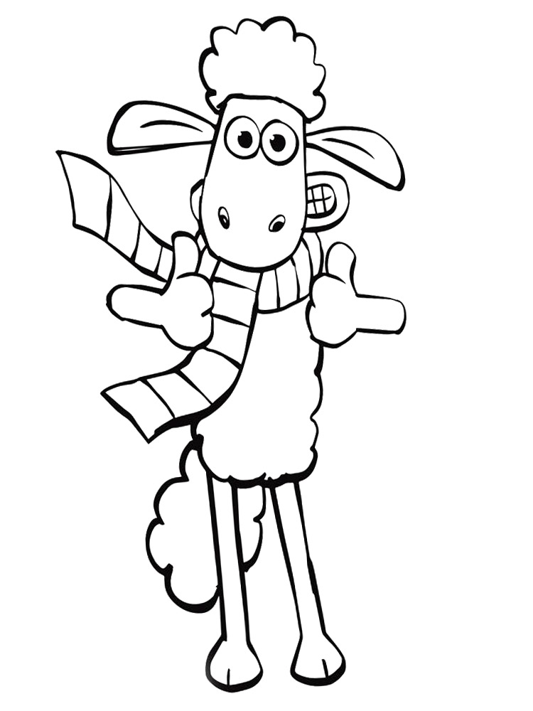 shaun the sheep coloring pages free shaun the sheep cartoon coloring pages for kids printable shaun free the sheep coloring pages