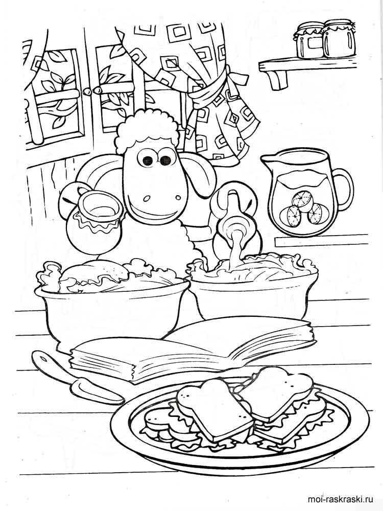 shaun the sheep coloring pages free shaun the sheep coloring pages coloring pages shaun sheep free the