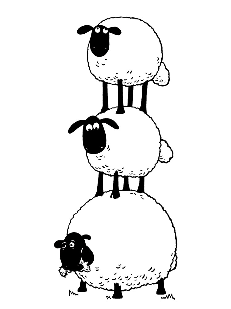shaun the sheep coloring pages free shaun the sheep coloring pages free the shaun coloring sheep pages