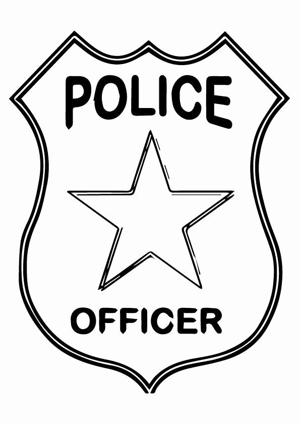 sheriff badge coloring page police badge coloring page elegant 10 best ideas about page sheriff coloring badge