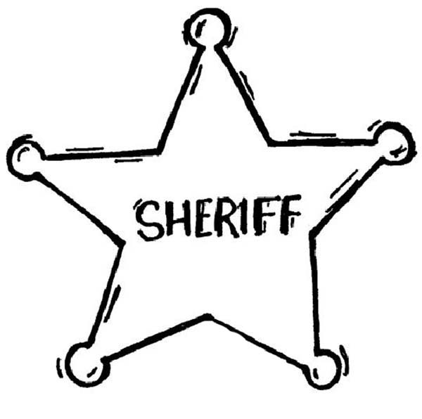 sheriff badge coloring page print these 17 craft templates for kids for hours hours page badge coloring sheriff