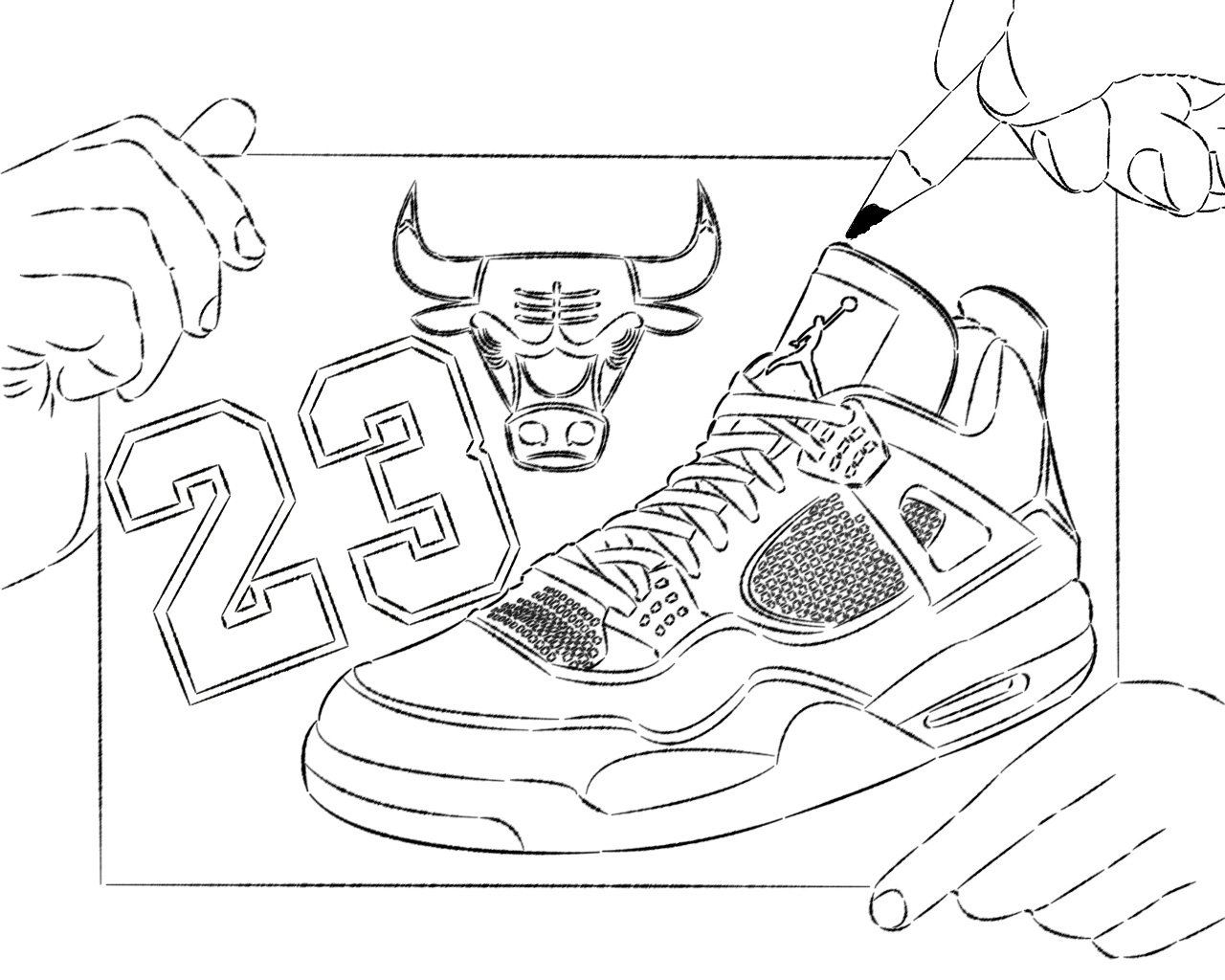 shoes pictures to color basketball shoe coloring pages download and print for free to color shoes pictures