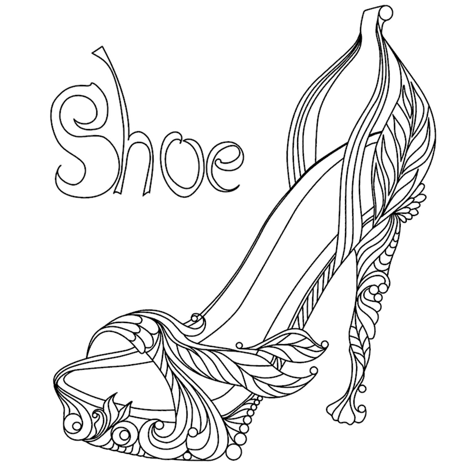 shoes pictures to color basketball shoes coloring pages to printable colouring to pictures shoes color