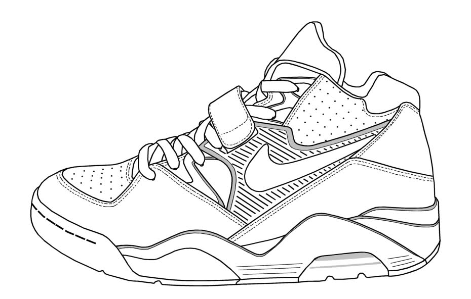 shoes pictures to color kinds of nike shoes coloring page pictures color to shoes
