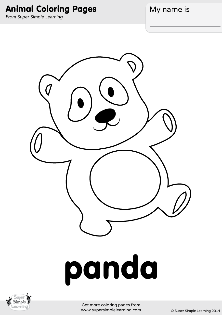 simple panda coloring pages free easy to print panda coloring pages in 2020 bear simple coloring panda pages