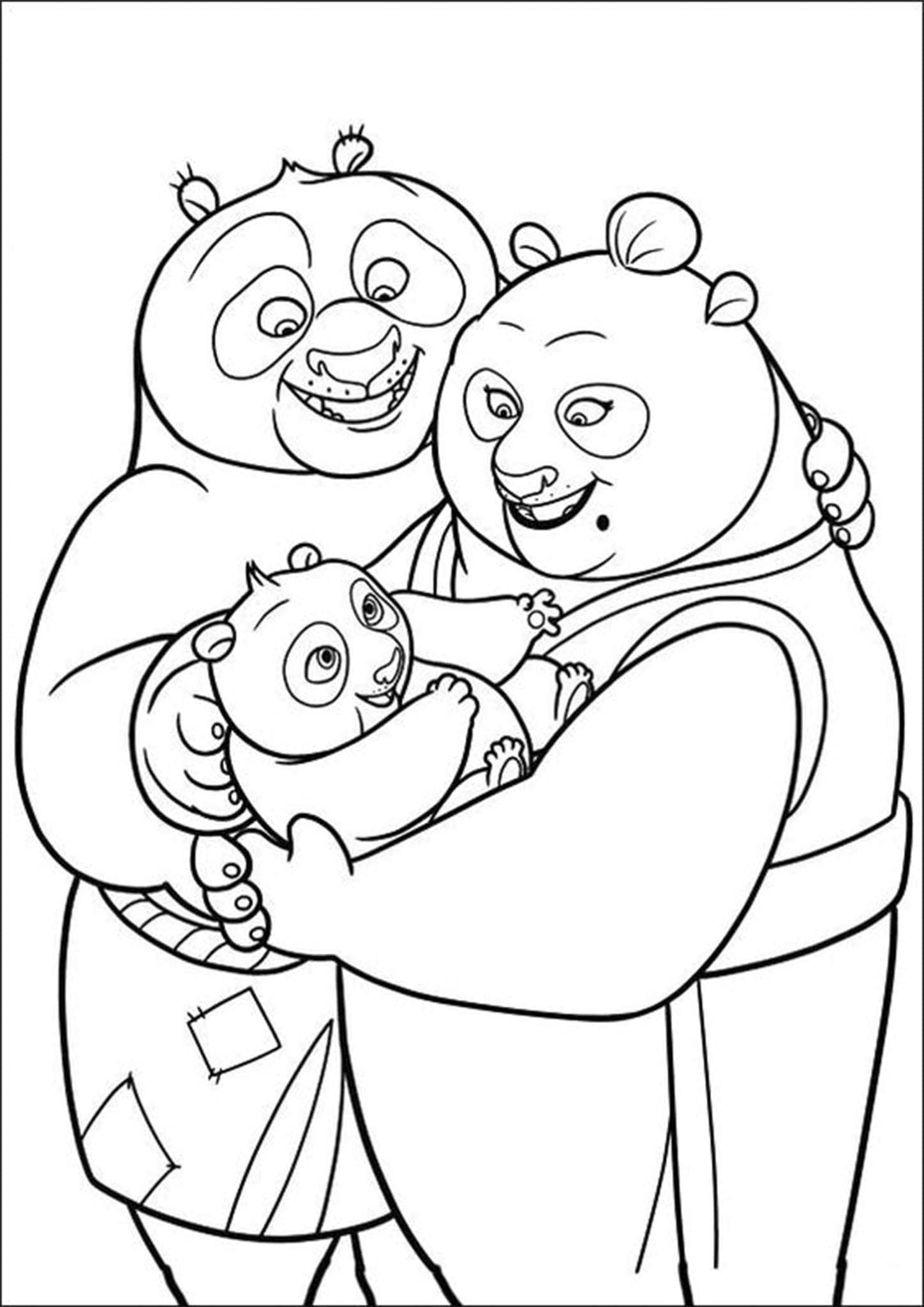 simple panda coloring pages free easy to print panda coloring pages in 2020 panda simple pages coloring panda