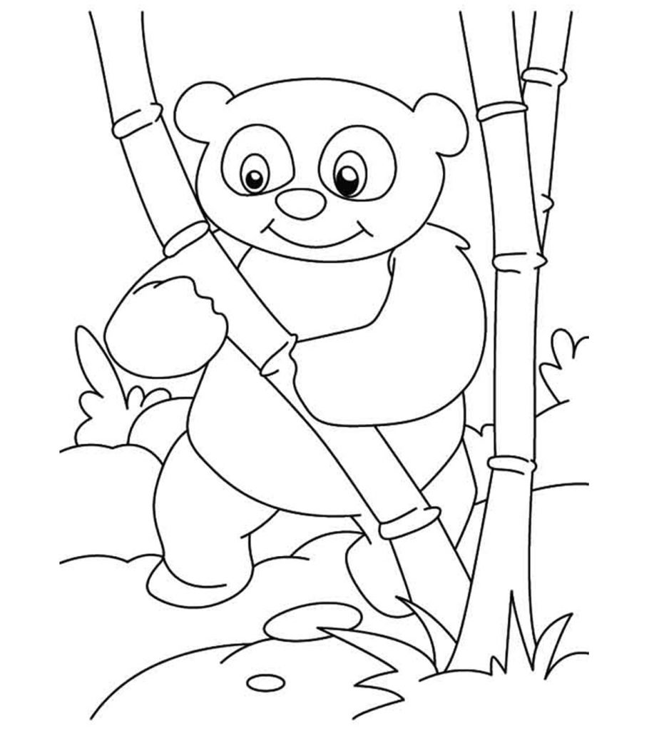 simple panda coloring pages free easy to print panda coloring pages panda coloring pages panda simple coloring