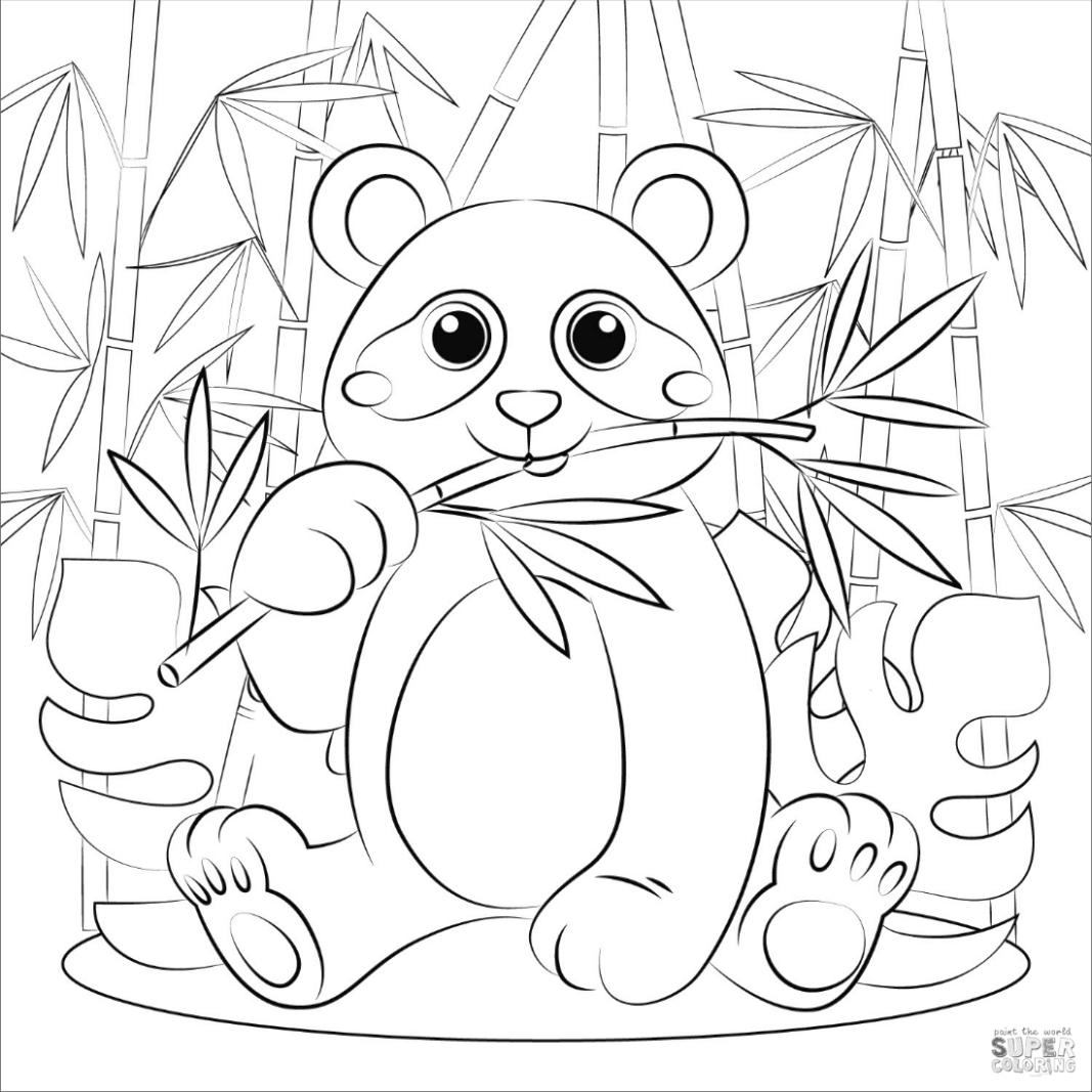 simple panda coloring pages panda coloring pages for adults 1 printable coloring page pages panda simple coloring