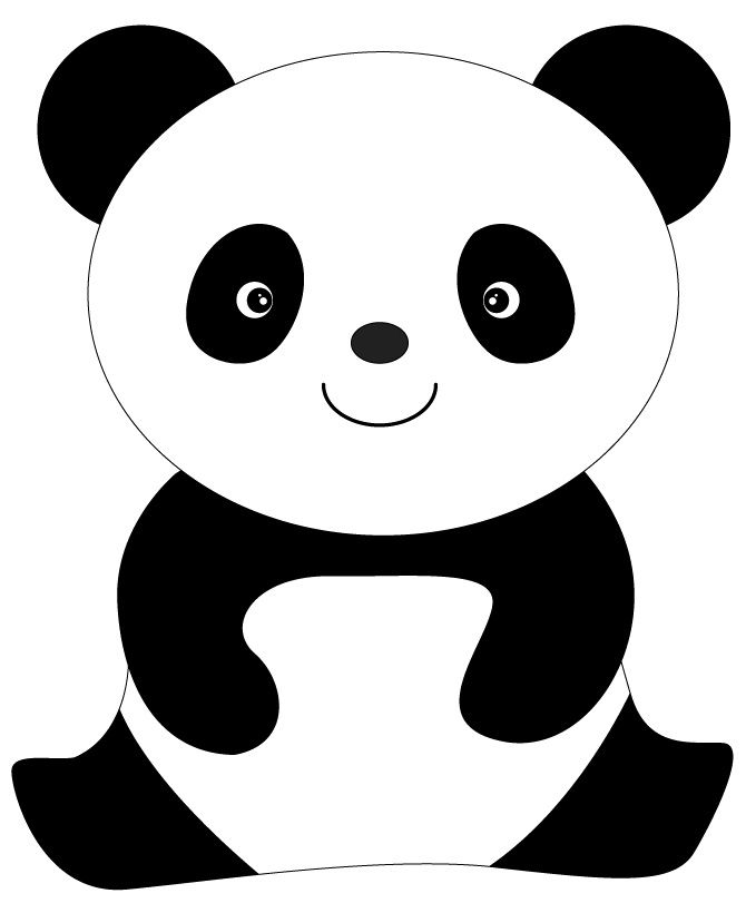 simple panda coloring pages pin on animals simple panda pages coloring