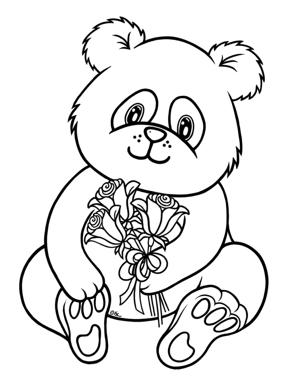 simple panda coloring pages red panda drawing at getdrawings free download simple panda coloring pages