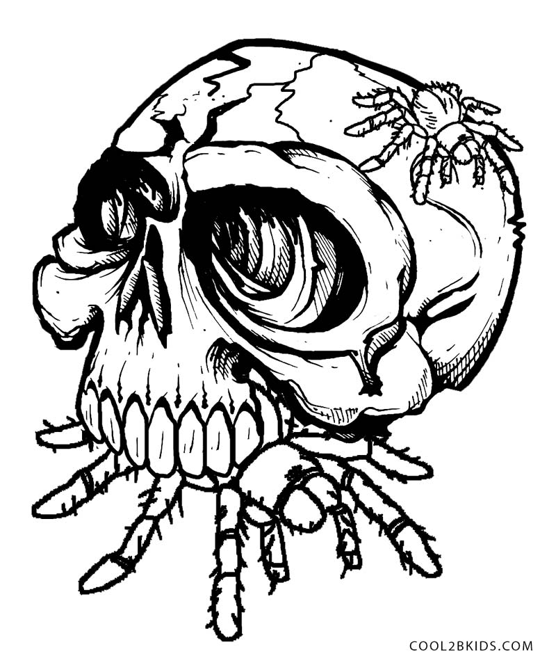 skulls to color sesame street coloring page tattoo page 6 skull coloring color to skulls