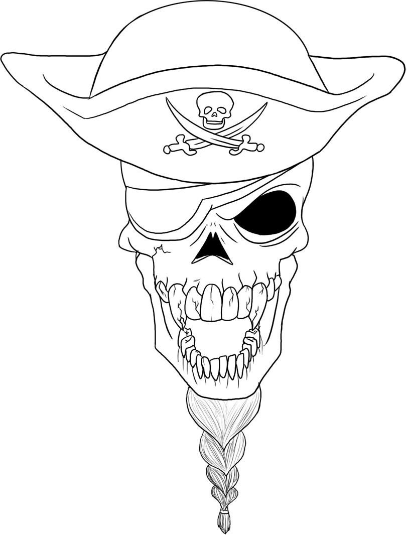 skulls to color skull coloring pages free download on clipartmag color skulls to