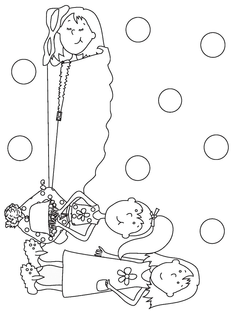 sleepover coloring pages sleepover colouring book cute coloring pages strawberry pages coloring sleepover