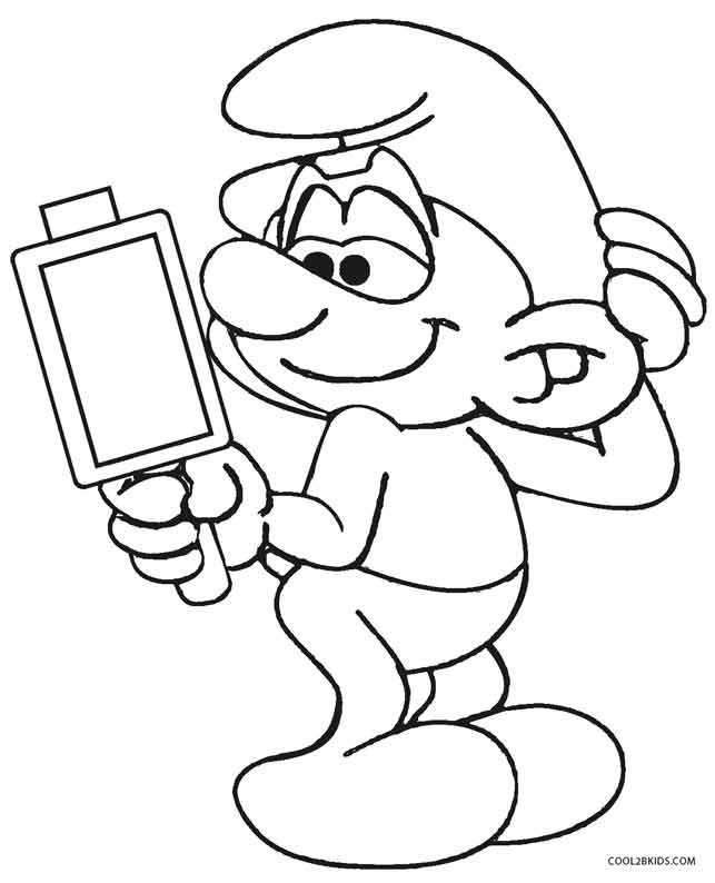 smurfs coloring pages awesome smurf with icecream smurf coloring page coloring pages coloring smurfs