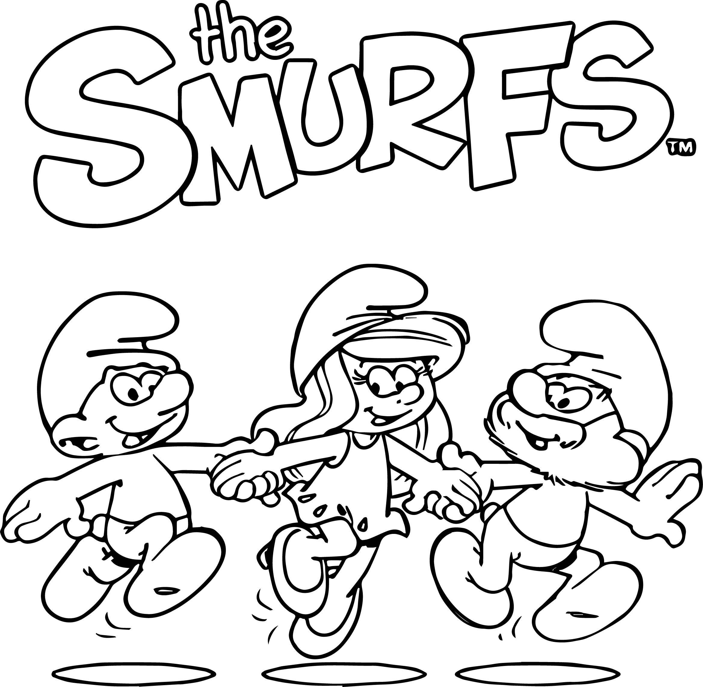 smurfs coloring pages free printable smurf coloring pages for kids pages smurfs coloring