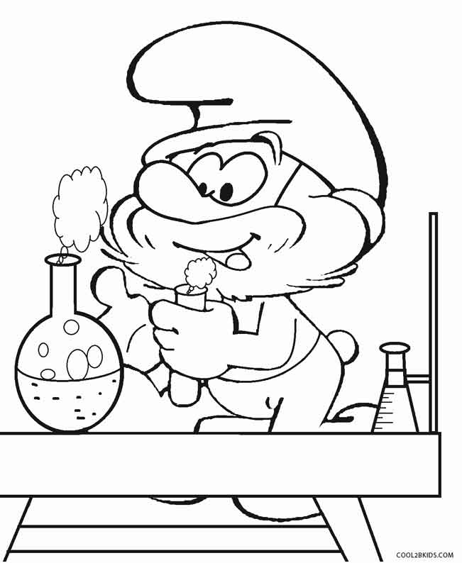 smurfs coloring pages smurfette coloring pages to print at getdrawings free coloring pages smurfs