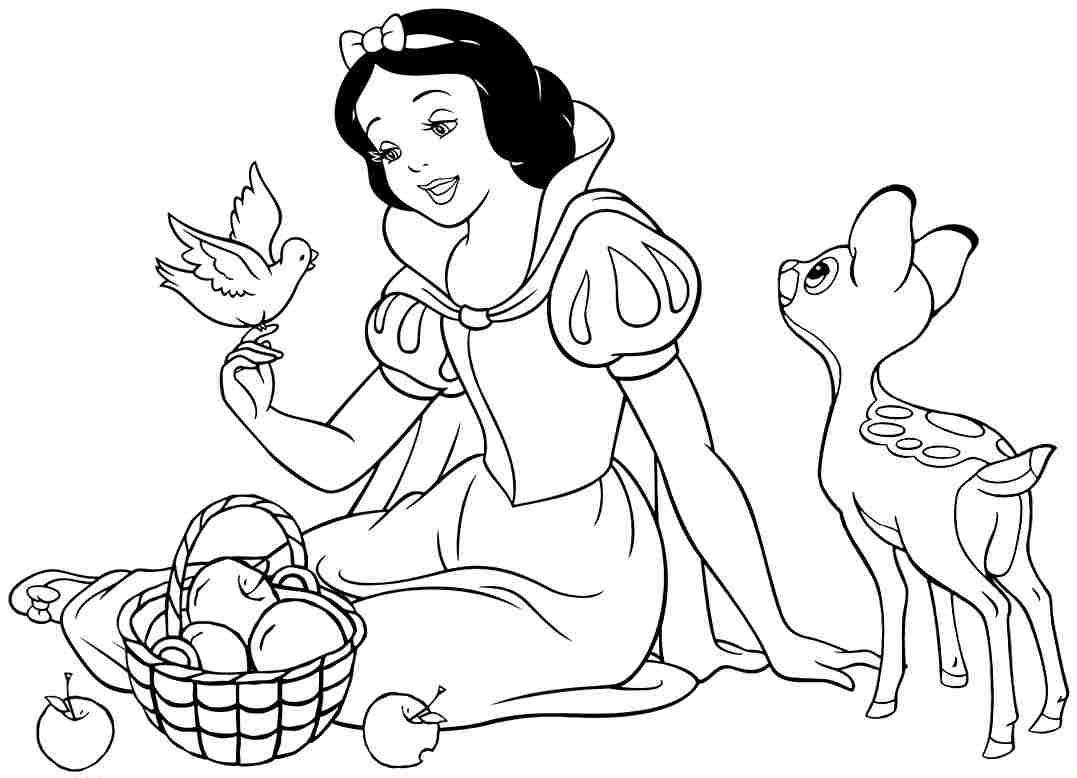 snow white for coloring snow white and the seven dwarfs coloring pages for snow coloring white