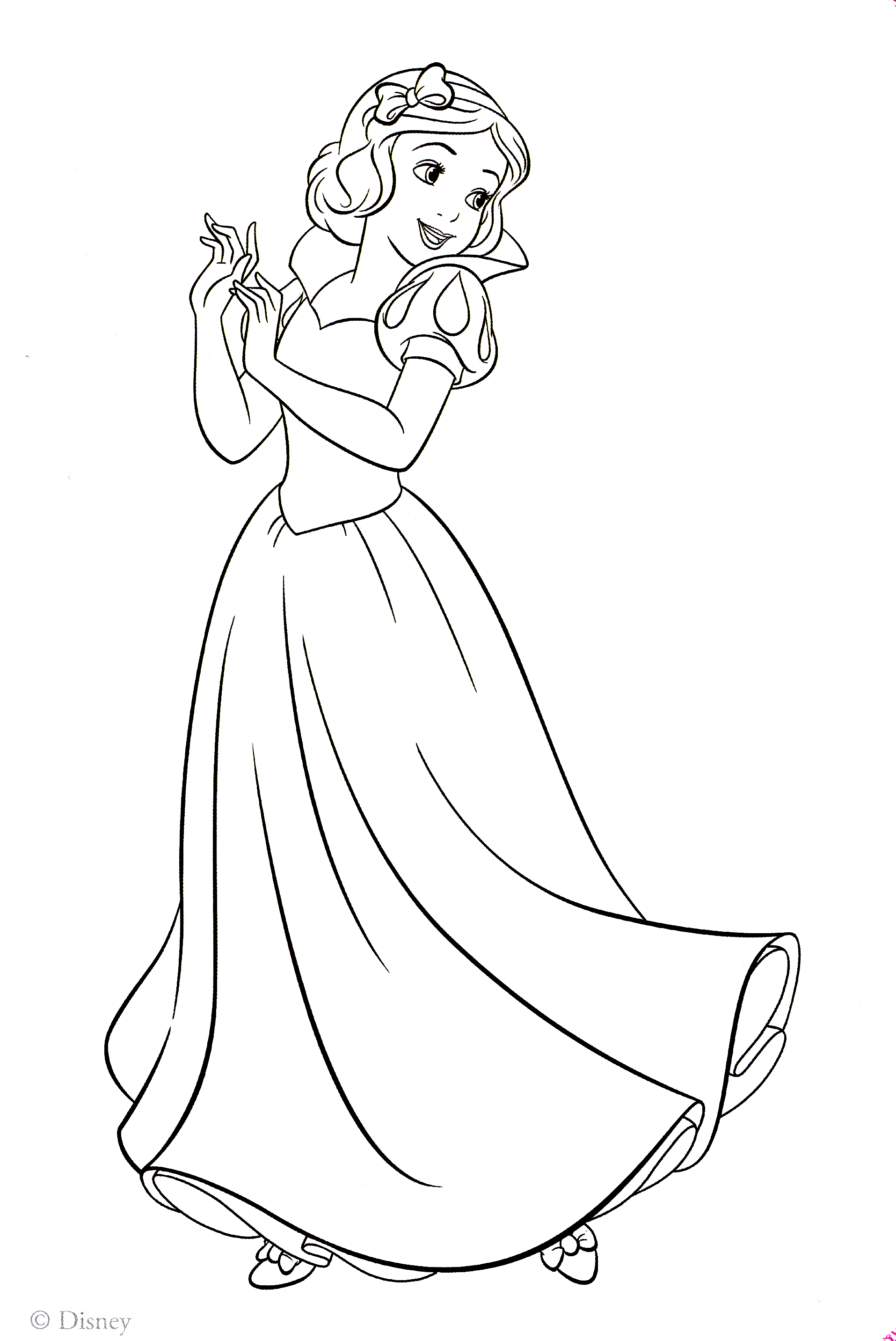 snow white for coloring snow white coloring pages coloring pages to download and snow coloring white for