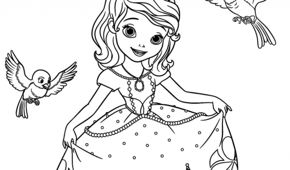 sofia the first coloring pages free princes sofia for kids sofia the first kids coloring pages first sofia pages free the coloring