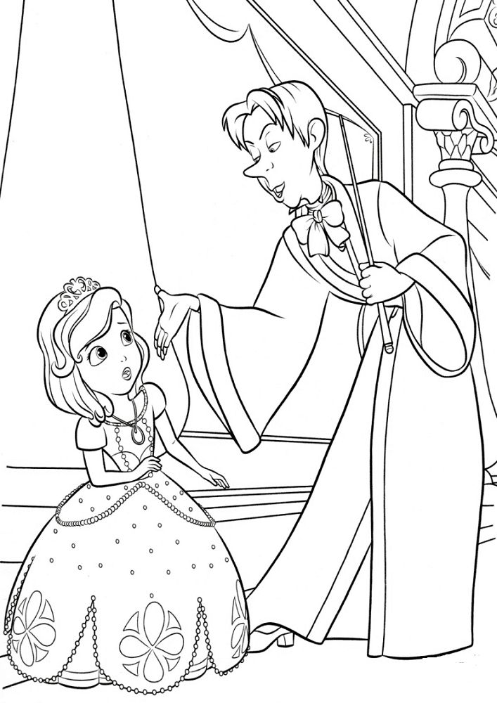 sofia the first coloring pages free princess sofia coloring page free printable coloring pages first the sofia pages coloring free