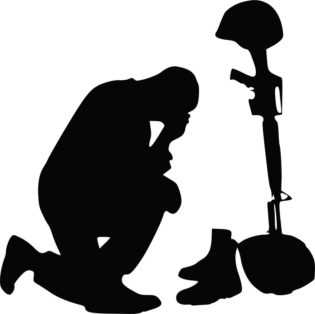 soldier praying silhouette a solider and the nativity a true story new york praying soldier silhouette