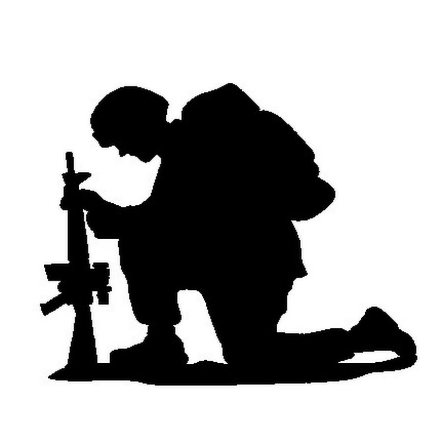 soldier praying silhouette outdated and inaccurate 39darkhorse battalion39 prayer praying silhouette soldier