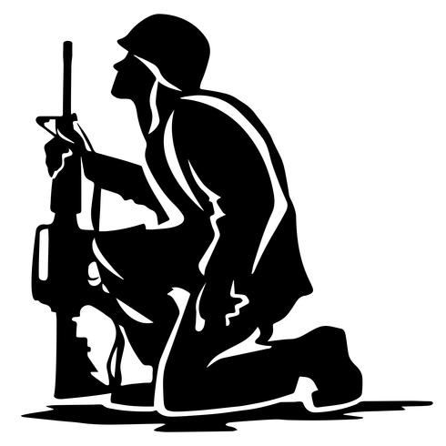 soldier praying silhouette silhouette of a soldier kneeling in respect for a fallen praying soldier silhouette