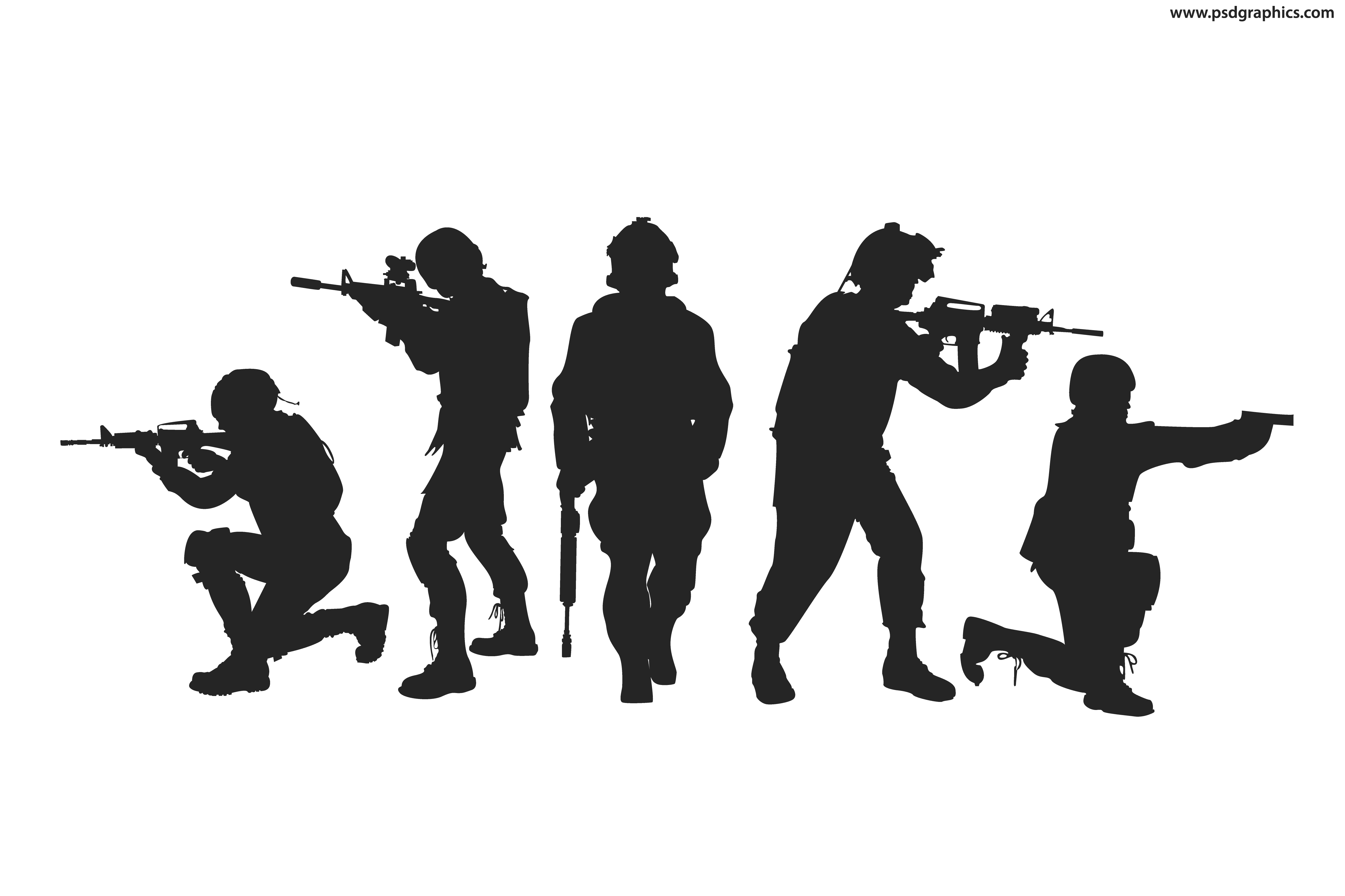 soldier silhouette soldiers silhouettes vector psdgraphics silhouette soldier