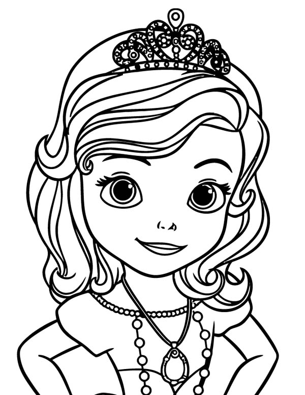 sophia the first coloring pages princes sofia for children sofia the first kids coloring first pages sophia coloring the
