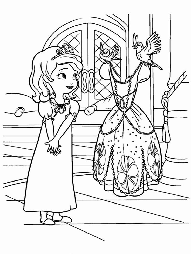 sophia the first coloring pages sofia first coloring pages coloring pages printablecom the pages first sophia coloring