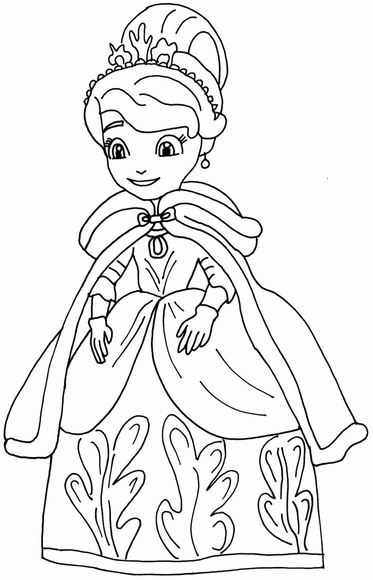 sophia the first coloring pages zallie coloring pages sofia the first coloring page sophia coloring first pages the