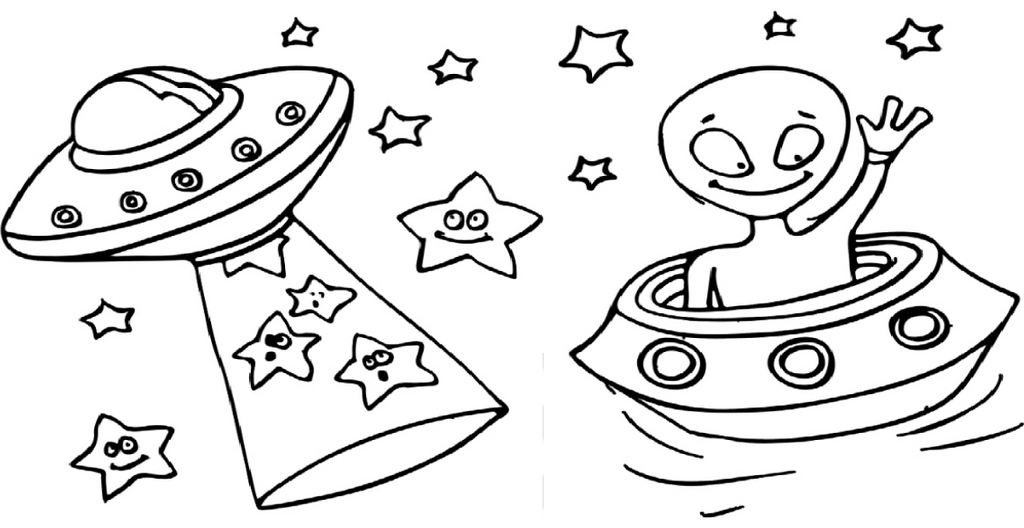 space coloring outer space coloring page beautiful space alien color by coloring space