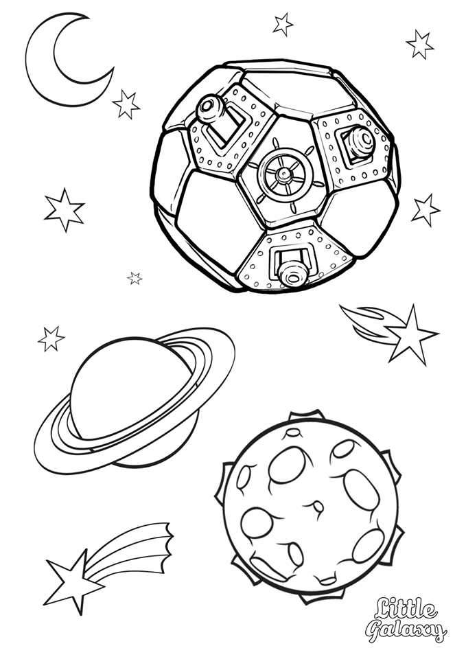 space coloring planets stars and rocket in outer space coloring page coloring space