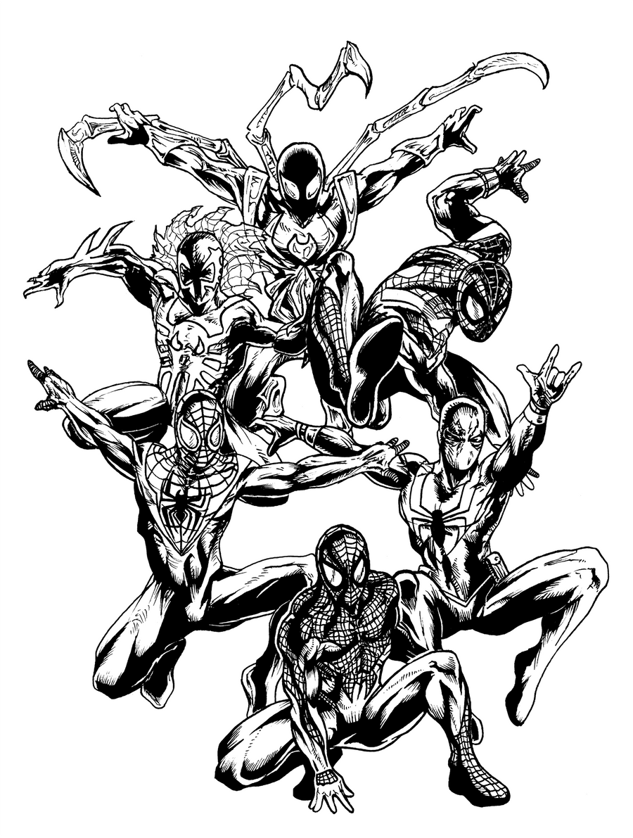 spider man 2099 coloring pages 2099 spider man free coloring pages coloring spider man 2099 pages