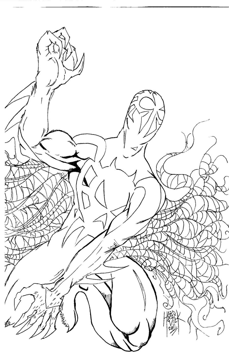 spider man 2099 coloring pages spider man 2099 drawing at getdrawings free download spider coloring man pages 2099