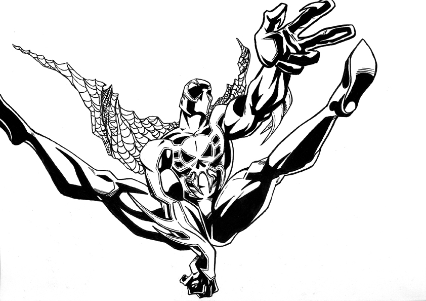 spider man 2099 coloring pages spiderman 2099 free coloring pages 2099 pages coloring man spider