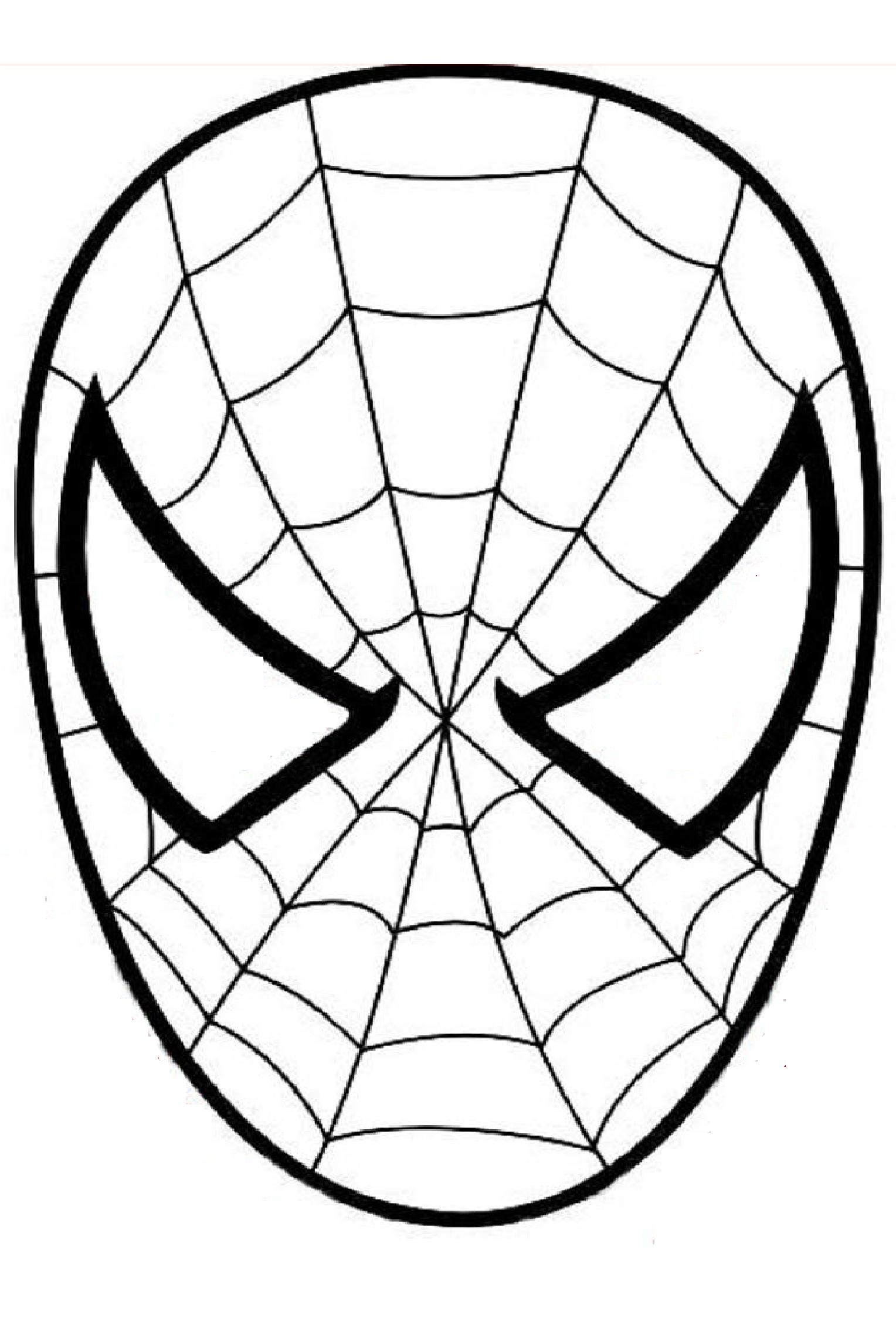 spiderman coloring pages easy easy spiderman coloring pages at getdrawings free download easy pages spiderman coloring
