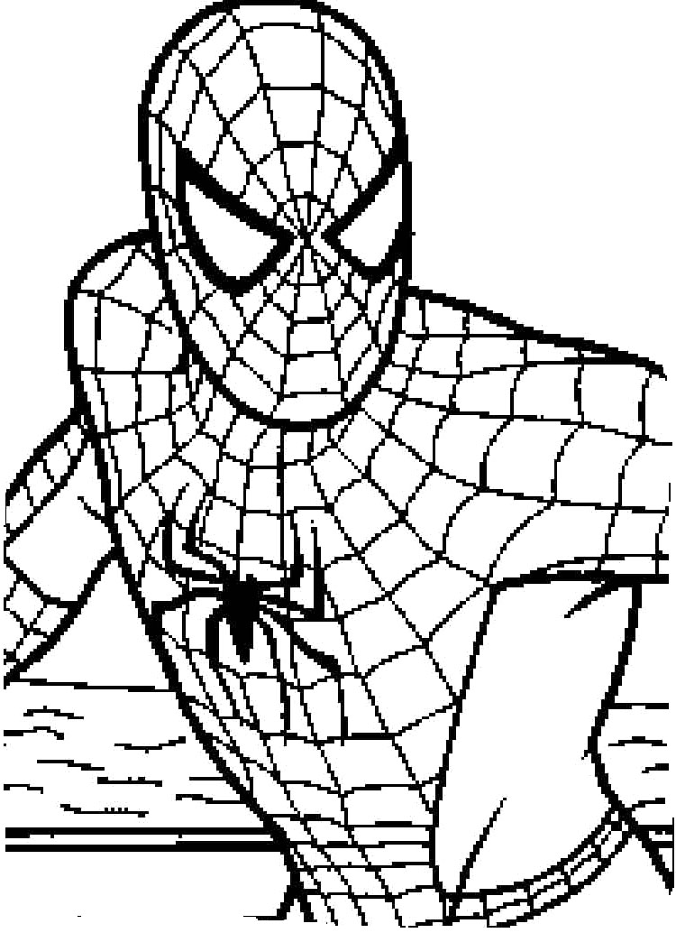 spiderman coloring pages easy get this spiderman coloring pages free printable 679154 spiderman easy coloring pages
